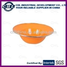 Enamel bowl with UFO shape