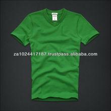 Blank Green T-shirt &Men t shirt