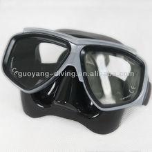 Women soft silicone deep see diver prescription mask