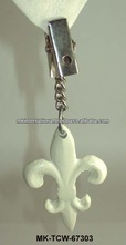 Lilly Shaped Tablecloth Weight Clip