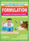 formula document for making WOOD POLISH SEALER COATING COMPOUND