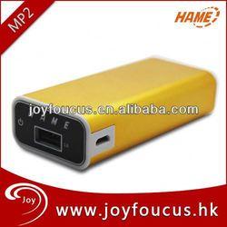 Factory price Hame power bank MP2 5200mAh/power king battery