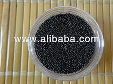 Black Glass Beads(Spherical) 0.6-1.2mm