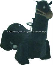 BLACK HORSE WALKING ANIMAL