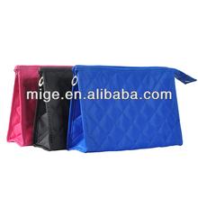 Wholesale Cosmetic Bag Fashion Diamond Lattice Portable Cosmetic Bag Lady Leisure Washbag (NJ004)