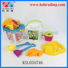 hot sale mini beach bucket toy for children