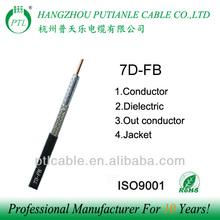 7d-fb ancho+de+banda+del+cable+coaxial direct from china factory