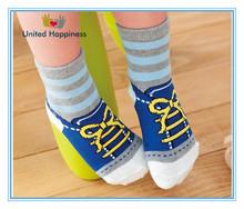 soft colorful baby shoe socks