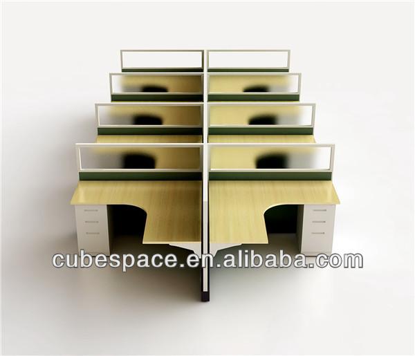 call center modular office furniture workstation for