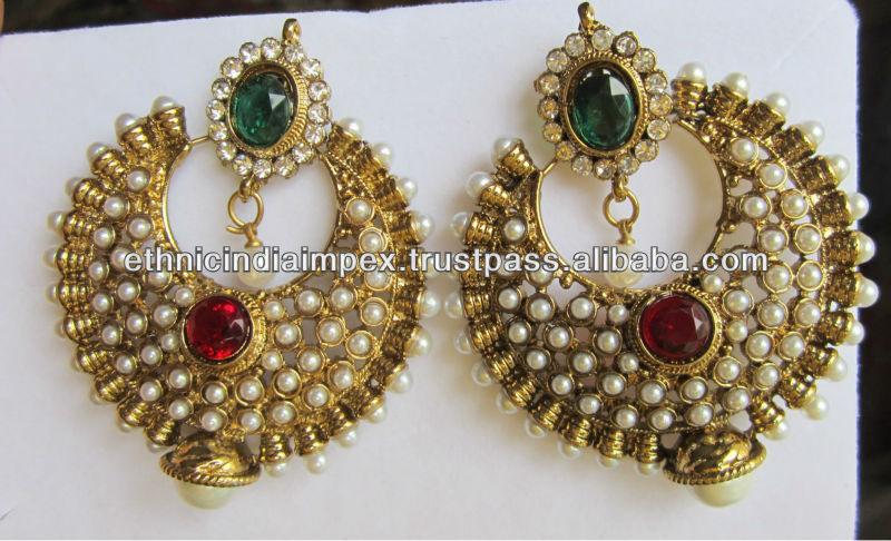 Ram leela earrings online buy