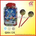 21g kosher yogueta frutas lollipop enchido com goma