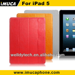 for ipad 5 leather case smart cover