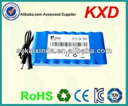 12 volt storage battery li-ion 18650 rechargeable 10ah