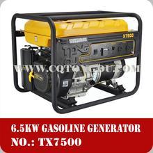 6.5kw gasoline engine ac generators price of competitive