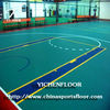 Waterproof PVC Plastic Flooring for Basketball/Volleball/Tennis/Badminton/Futsal Sports Hall