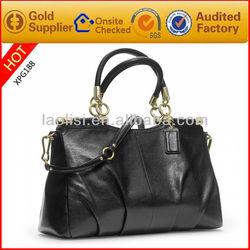 Hot sale black classic fashion brand shoulder bag for women handbag 2014
