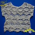 yjc15822 branco blusas de tecidos rendas