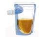 Reusable Snack Food Pouches for kids on the go/baby food bag spout refill/recycled food pouch/reusable juice spout pouch