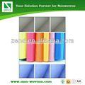 pp non tissé de couleur arc en mousseline de soie tissu