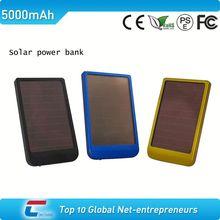 mental case solar panel free logo portable handphone solar chargers