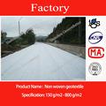 De fibra de grapa punzonada no- tejido de tela geotextil para la carretera