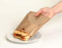 Non-stick PTFE Coated Cooking Bags fit for toasters, ovens, microwave ovens