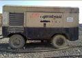 Utiliza ingersoll rand 750 impulsado por diesel portátiles de aire compessor, compresor portátil, diesel compresor de aire