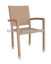 Rattan Patio Armrest Dining Chair