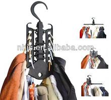 Multifunctional plastic magic hanger clothes hanger