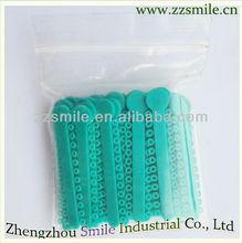 orthodontic instruments colorful ligature tie dental ligature tie