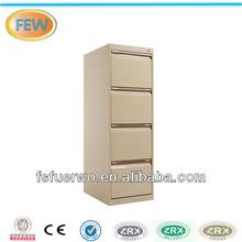 Steel office furniture 4 drawer file cabinet. 4 drawer mobile pedestal