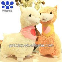 Alpaca Plush stuffed toys ,hot sale in south America