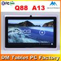 2013 novo produto inovador 7 polegadas q88 a13 tabletas melhor preço jxd jogos para download grátis 4.0 android tablet pc barato
