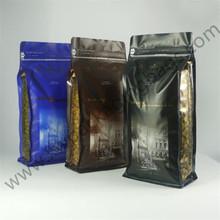 flat bottom coffee bag