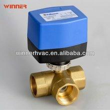 Motorized ball valve condensate drain