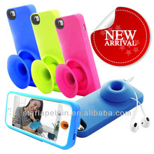 for iphone case with silicone block design