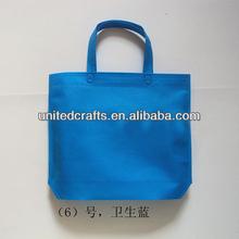 Custom Silk Screen Printing Foldable Non Woven Tote Shopping Bag