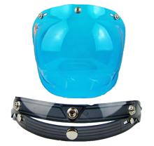high quality uv visor matches motorcycle helmet