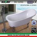 footed bathtub high quality acrylic footed bathtub MV-025G