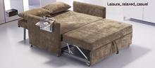 S35-1# fabric PU sofa bed wholesale