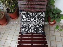 Applique Work Cushion Cover , Indian Hand Cutwork Cushion,Traditional Cotton Cushion covers,