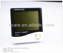 Digital HYGRO thermometer, digital thermometer with room temperature sensor HTC-1