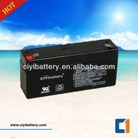 AGM Lead Acid Battery UPS Backup Battery 6V 3.4AH