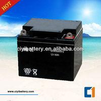 AGM Lead Acid Battery UPS Backup Battery 12V 40AH
