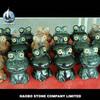 Haobo China Factory Cheap Green Granite Stone Small Animal Sculpture