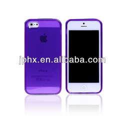 New Crystal Transparent Soft Silicon Full Cover Case for Iphone4