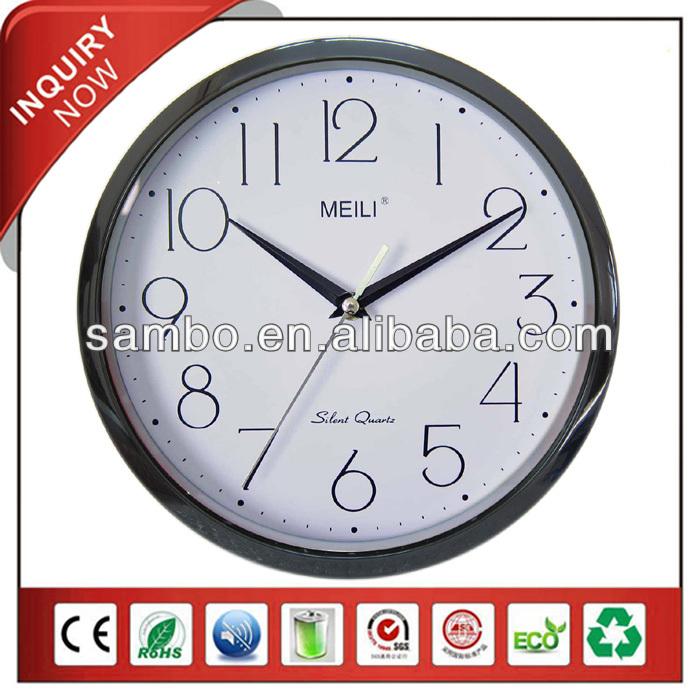 meili indoor gifts wall clock with kienzle quartz clock