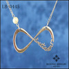 2014 Promotion Simple INFINITY FOREVER DIRECTIONER-Infinity One Direction Necklace Pearl Jewelry Wholesale Yiwu