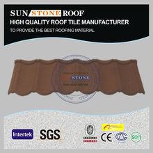 Elegante anti- tufão galume telhas de aço