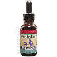 United States Seller:Cherry Bark Blend Alcohol-Free 1 Fl Oz by Herbs For Kids